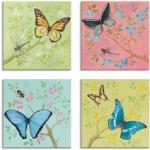 Bunte Artland Schmetterlinge Bilder mit Schmetterlingsmotiv
