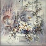 Weiße Landhausstil Artland Gemälde