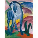 Artland Wandbild Blaues Pferd I. 1911., Haustiere, (1 St.), in vielen Größen & Produktarten - Alubild / Outdoorbild für den Außenbereich, Leinwandbild, Poster, Wandaufkleber Wandtattoo auch Badezimmer geeignet bunt Kunstdrucke Bilder Bilderrahmen Wohnaccessoires
