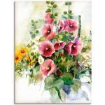Pinke Moderne Artland Blumenbilder