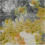 Artland Wandbild »Chrysanthemen in der Sonne III«, Blumen (1 Stück), in vielen Größen & Produktarten - Alubild / Outdoorbild für den Außenbereich, Leinwandbild, Poster, Wandaufkleber / Wandtattoo auch für Badezimmer geeignet