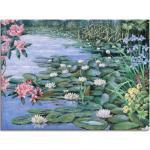 Artland Wandbild »Der See«, Gewässer (1 Stück), in vielen Größen & Produktarten -Leinwandbild, Poster, Wandaufkleber / Wandtattoo auch für Badezimmer geeignet