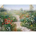 Artland Wandbild »Dichte der Natur«, Blumenwiese (1 Stück), in vielen Größen & Produktarten -Leinwandbild, Poster, Wandaufkleber / Wandtattoo auch für Badezimmer geeignet