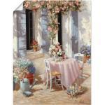 Artland Wandbild »Einladung«, Garten (1 Stück), in vielen Größen & Produktarten -Leinwandbild, Poster