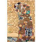 Goldene Moderne Artland Gustav Klimt Wohnaccessoires strukturiert
