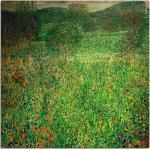 Grüne Art Deco Artland Gustav Klimt Poster