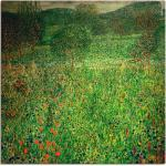 Grüne Art Deco Artland Gustav Klimt Landschaftsbilder