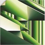 Grüne Moderne Artland abstrakte Bilder