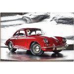 Rote Artland Porsche Dekoration