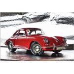 Rote Artland Porsche Leinwandbilder