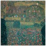 Bunte Rustikale Artland Gustav Klimt Wohnaccessoires strukturiert