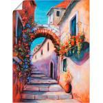 Artland Wandbild »Mediterrane Impressionen«, Gebäude (1 Stück), in vielen Größen & Produktarten - Alubild / Outdoorbild für den Außenbereich, Leinwandbild, Poster, Wandaufkleber / Wandtattoo auch für Badezimmer geeignet