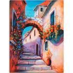 Bunte Mediterrane Artland Gemälde
