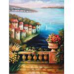 Artland Wandbild »Mediterrane Traumlandschaft«, Küste (1 Stück), in vielen Größen & Produktarten - Alubild / Outdoorbild für den Außenbereich, Leinwandbild, Poster, Wandaufkleber / Wandtattoo auch für Badezimmer geeignet
