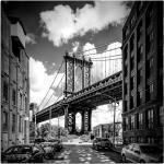 Schwarze Artland New York Bilder mit Brückenmotiv