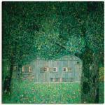 Grüne Moderne Artland Gustav Klimt Wohnaccessoires strukturiert