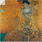 Goldene Art Deco Artland Gustav Klimt Leinwandbilder