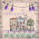 Artland Wandbild »Provence-meine Liebe«, Blumen (1 Stück), in vielen Größen & Produktarten - Alubild / Outdoorbild für den Außenbereich, Leinwandbild, Poster, Wandaufkleber / Wandtattoo auch für Badezimmer geeignet