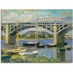 Blaue Artland Claude Monet Leinwandbilder