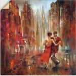 Artland Wandbild »Tango«, Sport (1 Stück), in vielen Größen & Produktarten - Alubild / Outdoorbild für den Außenbereich, Leinwandbild, Poster, Wandaufkleber / Wandtattoo auch für Badezimmer geeignet