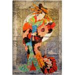 Artland Wandbild »Unterhalter I«, Frau (1 Stück), in vielen Größen & Produktarten - Alubild / Outdoorbild für den Außenbereich, Leinwandbild, Poster, Wandaufkleber / Wandtattoo auch für Badezimmer geeignet