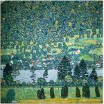 Grüne Art Deco Artland Leinwandbilder