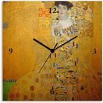 Gelbe Artland Gustav Klimt Kinderuhren