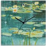 Artland Wanduhr Teichlandschaft IV grün Wanduhren Uhren Wohnaccessoires
