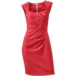 ASHLEY BROOKE by Heine Etuikleid rot Damen Kleider Klassische Mode