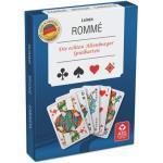 Ass Spielkarten Doppelrommé (Leinenqualität, in Stülpschachtel)