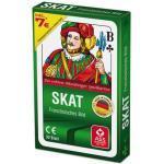 Ass Spielkarten Skat Club (französisches Bild)