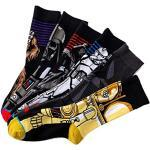 ASWER Men's 6 Pairs Star Wars Sport Cotton Socks Athletic Casual Crew Socks Color#13