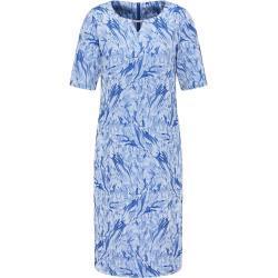 atelier gs Etuikleid »Royales Jacquard-Kleid mit Schmuckelement«