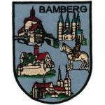 AUFNÄHER - Wappen - BAMBERG - 02924 - Gr. ca. 7,5 x 8,5 cm - Patches Stick ...