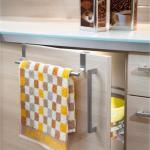 Ausziehbarer Handtuchhalter für Küche und Bad Edelstahl