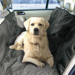 Auto-Schondecke XXL für Rücksitz und Kofferraum, Farbe: schwarz, Größe: 220 x 150 cm