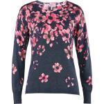 Avena Damen Soft-Pullover Blütentraum Rot