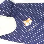 Babydecke Kuscheldecke Fuchs Personalisiert