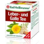 BAD HEILBRUNNER Leber- und Galletee Filterbeutel 8X1.75 g