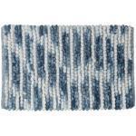 Badematte Sealskin Vintage Polyester Blau 50x80 cm