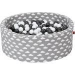 """Bällebad soft - """"Grey white clouds"""" - 300 Bälle (grau, creme) creme/grau"""