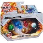 Bakugan Geogan Brawler 5er Pack, exklusive Surturan und Sluggler Geogan und 3 Bakugan Actionfiguren zum Sammeln, Spielfigur