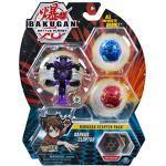 BAKUGAN Spinmaster – 6045144 Darkus Cloptor – Starter Pack mit 3 Action Figuren