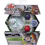 Bakugan Starter Pack mit 3 Armored Alliance Bakugan (Ultra Haos Trox, Basic Darkus Pharol, Basic Pyrus Nillious)