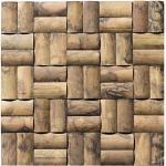 Bambus - Wand-Verkleidung - BM-007 - Holz-Design Verblender Wandpaneele Bamboo-Mosaic Bamboo-Design - Mosaikfliesen Lager Verkauf Stein-mosaik Herne NRW