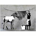 Nachhaltige Moderne Banksy Dekoration mit Köln-Motiv