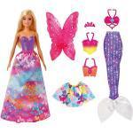 Barbie® Dreamtopia 3-in1-Fantasie Spielset mit Puppe (blond)