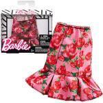Barbie Rock Godetrock Rosen Print Mattel FPH32   Trend Mode Puppen-Kleidung