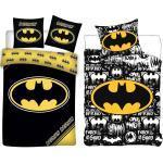 Batman Kinderbettwäsche » - 2 x Wende-Bettwäsche-Set, 135x200 & 80x80 cm«, 100% Baumwolle