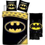 Batman Kinderbettwäsche » - Kinder-Bettwäsche-Set, 135x200 cm und Handtuch, 70x140 cm«, 100% Baumwolle